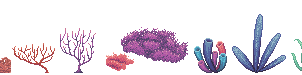 Coral Reef Sprites by twistedragon