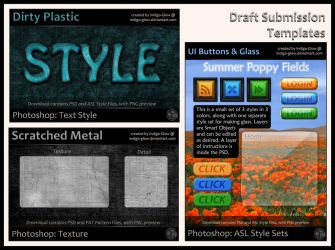 Draft Resource Submission Templates by Indigo-Glow