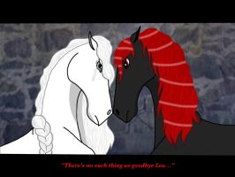 There's no such thing as goodbye Lea.... by jasperthepony