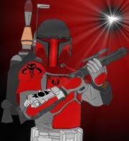 fan made Mandalorian by Rodef-Shalom