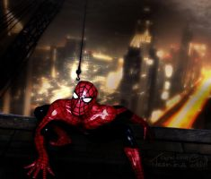 Spiderman oh Spiderman by JassysART
