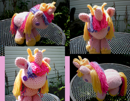 Princess Cadence Filly Plush by Crowchet
