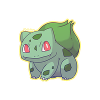 Bulbasaur by Alolan-Vulpixy