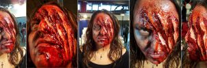 prosthetic makeup 3 by gorkafx