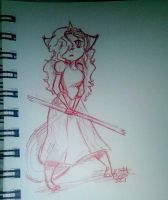 Quick sketch #1 by kittypicles221