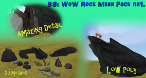 BS WoW Rock mesh pack nr1. [LINK] by BurnSightFH