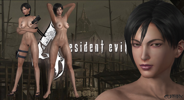 Ada Wong (Resident Evil 4) Nude Mod For XPS by cunihinx