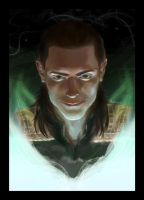 Loki_PS practice by pastellZHQ