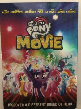 finally got the My Little Pony: The Movie DVD :D by Callewis2