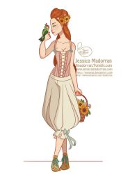 Character Design - Baroque Aristocracy  Summer 03 by MeoMai