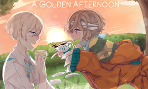 .: CE :. A Golden Afternoon by EnaMei