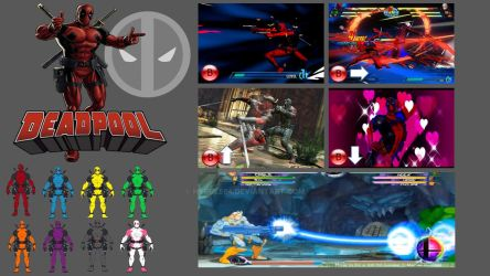 Deadpool Super Smash Bros. Moveset by Hyrule64