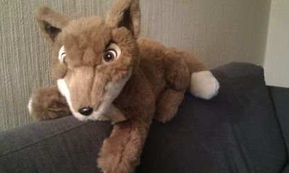 Farthing Wood Bold soft toy by CrocodileRawk
