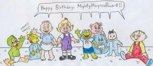 Bday - MightyMorphinPower4 by Jose-Ramiro