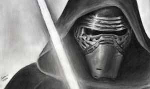 Kylo Ren - The Force Awakens by INH99