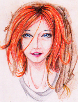 Ginger by redgreave