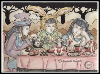 All Alice Tea Party by natamon