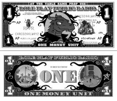 Both Front and Back of the Money Unit of RPPR by Crazon