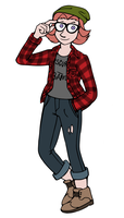 Hipster Sigrun by pinearts