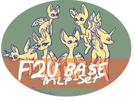 F2U MLP 6 Base Set! by moondust272