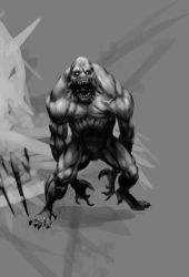 1hour monster 1 by joverine
