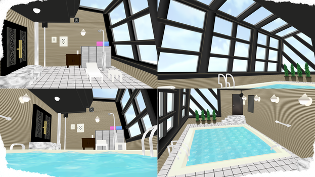 Swimming Pool Stage : Swimming pools and spas on mmd stages deviantart