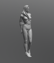 Nude Figure Study by ZymTrance