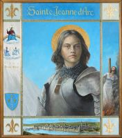 Joan of Arc Icon by Entar0178