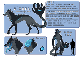 Z'vher Reference | 2016 | OPEN Species!! by SouOrtiz