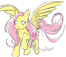 Fluttershy 2012 by TheJennyPill