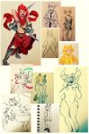 sketchdump10 by cayotze