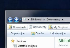 QTTabBar for W7 and W8 default theme by BlueX-pl