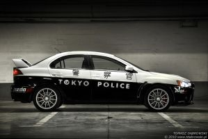 Tokyo Police Evo X - 2 by Dhante