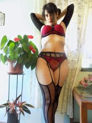 Red Lingerie by VictoriaRusso