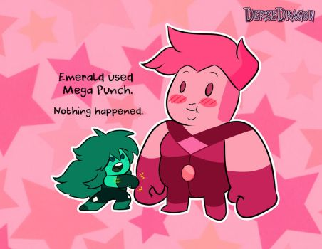 Emerald And Pink Topaz Gemlings by DerseDragon
