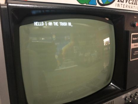 Some trs80 programming  by MacThePlaneh