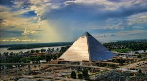The Pyramid and the Storm by ce3Design