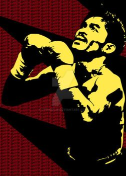 Pacquiao Vector by cyphaflip