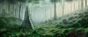 Forest of  the Faded Ones by HeribertoMartinez