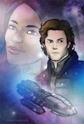 BSG: Apollo and Dee by grantgoboom