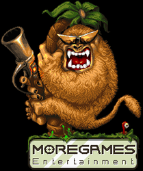 Moregames Logo (updated and pixelated) by andylittle