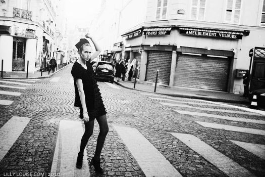 The Streets of Paris by MissHeroin