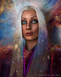 A Beautiful Woman Delights the Eye by AVAdesign