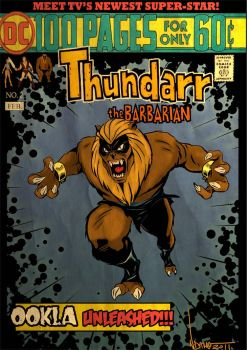 Ookla the Mok Thundarr comic by ArtNomad