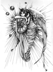 Angel of time by divino07