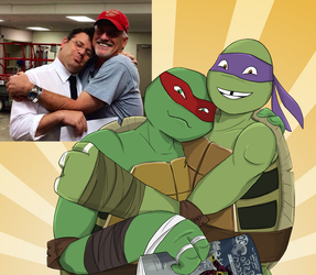 The voices of Raph and Donnie by Myrling