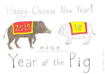 Year of the Pig by Bushdog4