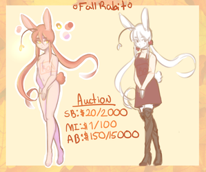 Fall Rabit Auction {CLOSED} by RonnieIsCrying