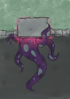 Long tentacles by EyepatchGuy
