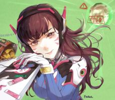 D.Va by frown0711